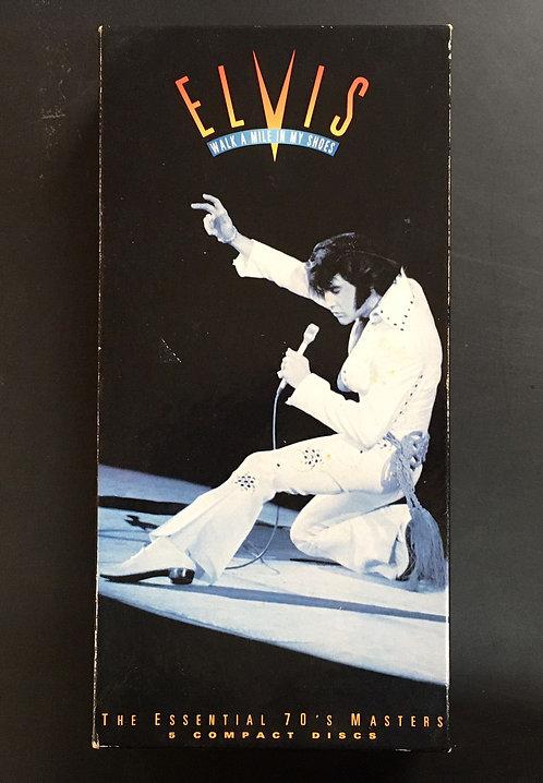 Box 5 CD's Elvis Presley - Walk A Mile In My Shoes - Importado