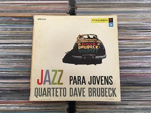 LP Quarteto Dave Brubeck - Jazz Para Jovens