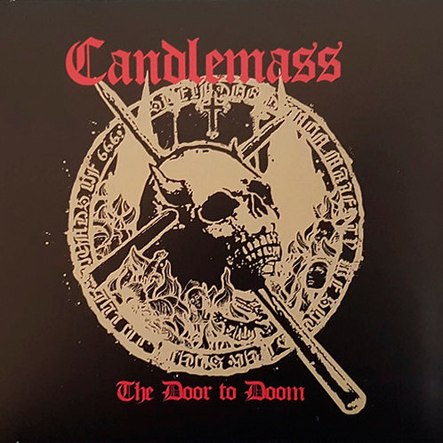 CD Candlemass - The Door To Doom - Lacrado