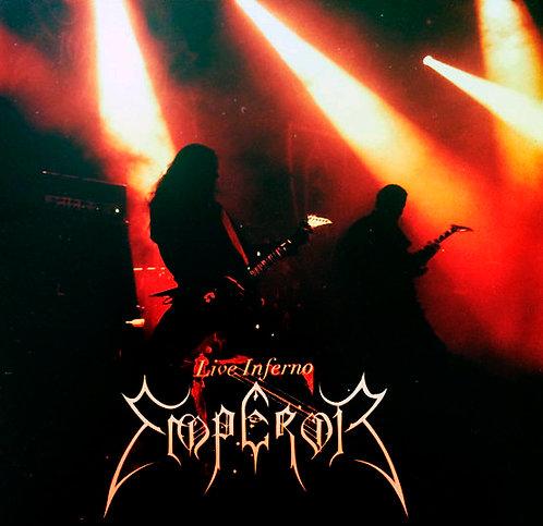 CD Emperor - Live Inferno - Duplo - Importado - Lacrado