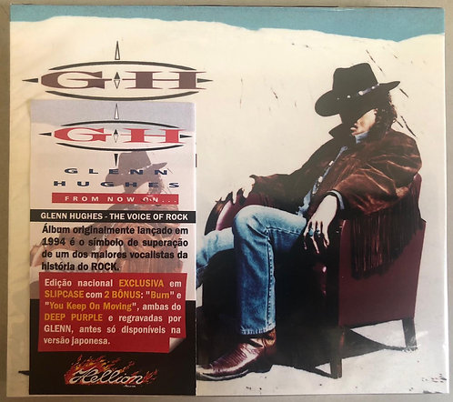 CD Glenn Hughes - From Now On... - Slipcase - +Bônus - Lacrado