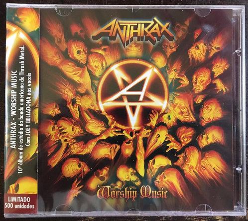 CD Anthrax - Worship Music - Ed. Limitada - Lacrado