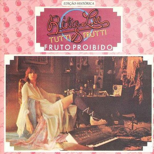 CD Rita Lee & Tutti Frutti - Fruto Proibido (Seminovo)