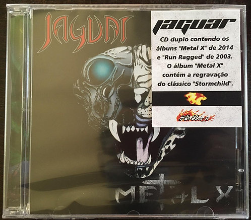 CD Jaguar - Metal X & Run Rugged - (Duplo) - Lacrado