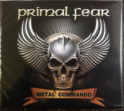 CD Primal Fear - Metal Commando - Duplo / Digipack - Lacrado