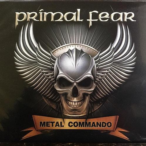 CD Primal Fear - Metal Commando - Duplo / Digipack - Lacrado
