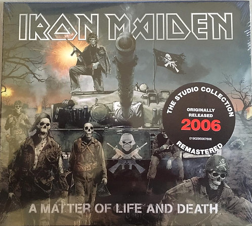 CD Iron Maiden - A Matter Of Life And Death - Digipack - Lacrado