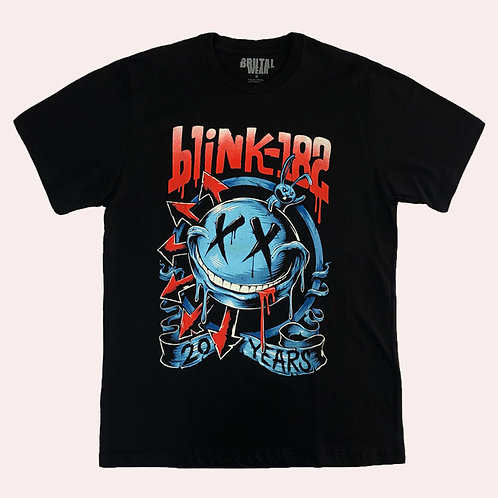 Camiseta Blink 182 - 20 Years - Brutal