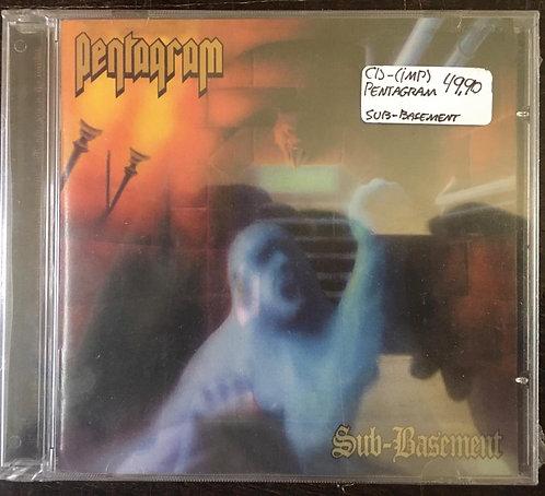 CD Pentagram - Sub-basement - Importado - Lacrado