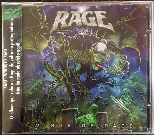 CD Rage - Wings Of Rage - Lacrado