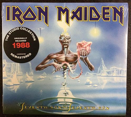 CD Iron Maiden - Seventh Son Of A Seventh Son - Digipack - Lacrado