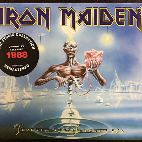 CD Iron Maiden - Seventh Son Of A Seventh Son - Digipack - Lacrado