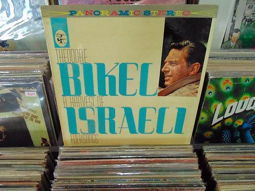 LP Theodore Bikel - A Harvest Of Israeli Folksongs - Importado