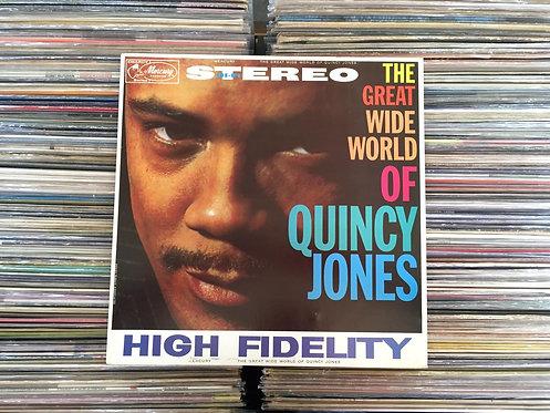 LP Quincy Jones - The Great Wide World Of Quincy Jones