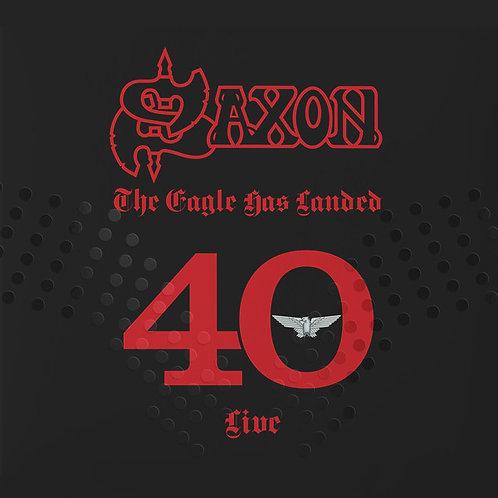 CD Triplo Saxon - The Eagle Has Landed 40 Live - Lacrado