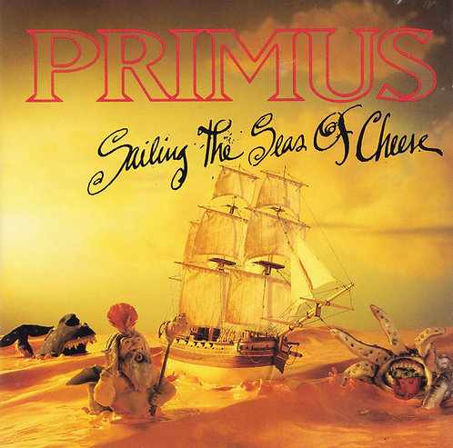CD Primus - Sailing The Seas Of Cheese - Importado - Lacrado
