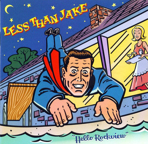 CD Less Than Jake - Hello Rockview - Importado - Lacrado