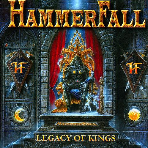 CD Duplo + DVD Hammerfall - Legacy Of Kings - Lacrado