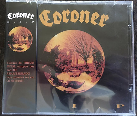 CD Coroner - R.I.P. - Lacrado