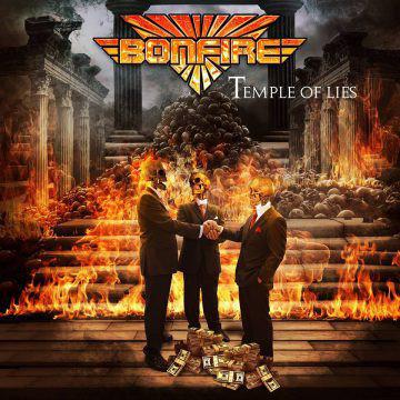 CD Bonfire - Temple Of Lies - Lacrado
