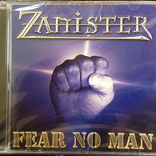 CD Zanister - Fear No Man - Importado - Lacrado