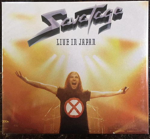CD Savatage - Live In Japan - Digipack - Lacrado - + Bônus