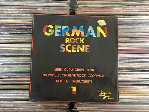 LP German Rock Scene - 1 - Scorpions, Jane...