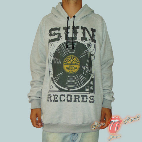 Moletom Sun Records - Vinyl - Bomber