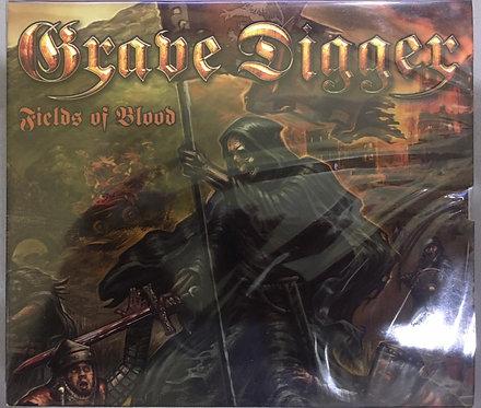 CD Grave Digger - Fields Of Blood - Slipcase - Lacrado