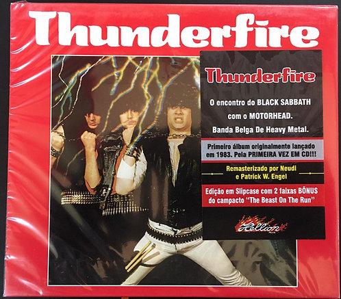 CD Thunderfire - Thunderfire - Slipcase - Lacrado