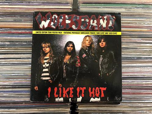 LP Wolfsbane - I Like It Hot - Importado - Single - +Pôster
