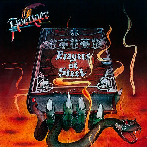 CD Avenger - Prayers Of Steel - Duplo - Lacrado