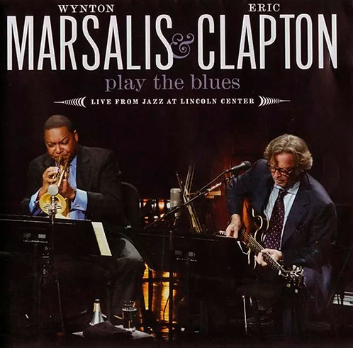 CD Marsalis & Clapton - Play The Blues - Live From Lincoln Center - Lacrado