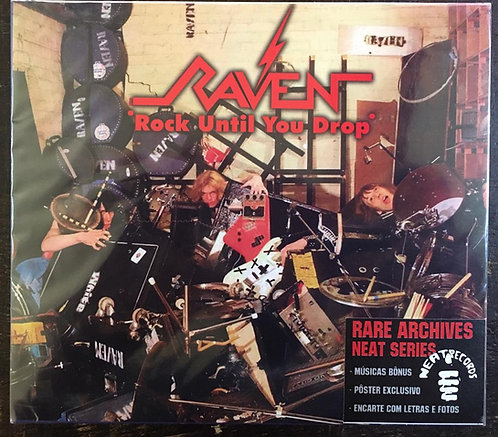 CD Raven - Rock Until You Drop - Slipcase - Lacrado