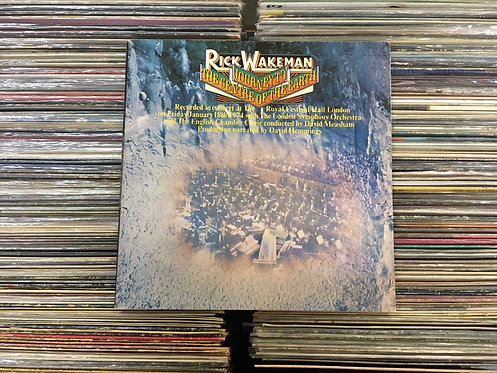 LP Rick Wakeman - Journey To The Centre Of The Earth - Capa Dupla