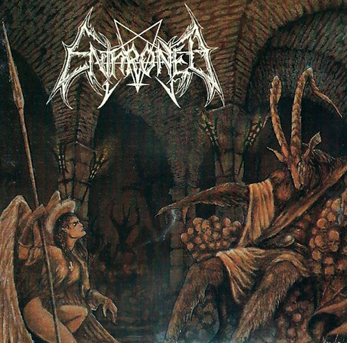 CD Enthroned - Towards The Skullthrone Of Satan - Lacrado