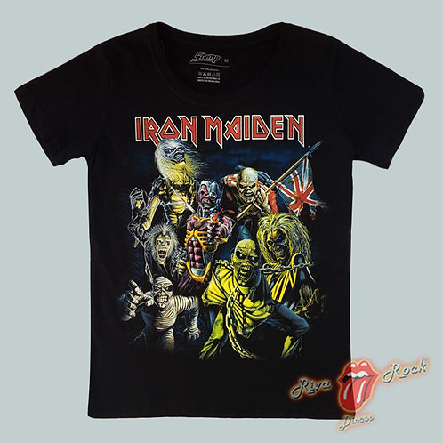 Camiseta Baby Look Iron Maiden - Best of the Beast - Stamp