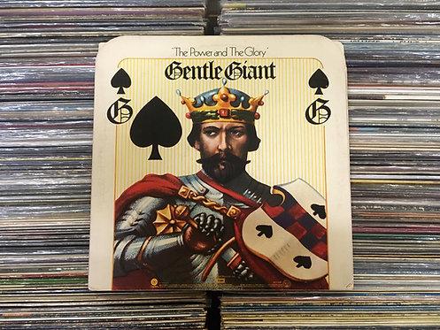 LP Gentle Giant - The Power And The Glory - Importado - Com Encarte