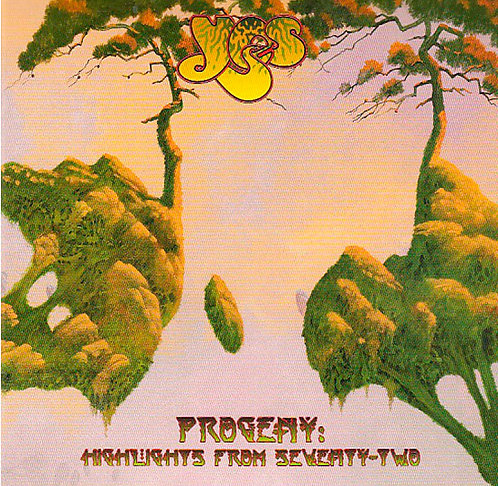 CD Yes - Progeny: Highlights From Seventy-two - Duplo - Lacrado