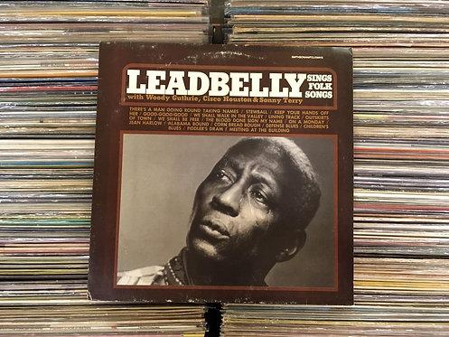 LP Leadbelly - Sings Folk Songs