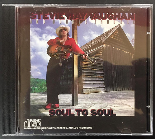 CD Stevie Ray Vaughan And Double Trouble - Soul To Soul - Importado
