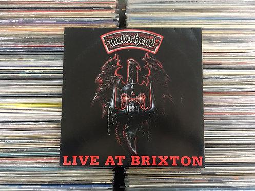 LP Motörhead - Live At Brixton - C/ Encarte