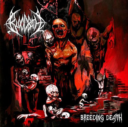 CD Bloodbath - Breeding Death - 1° EP - Lacrado