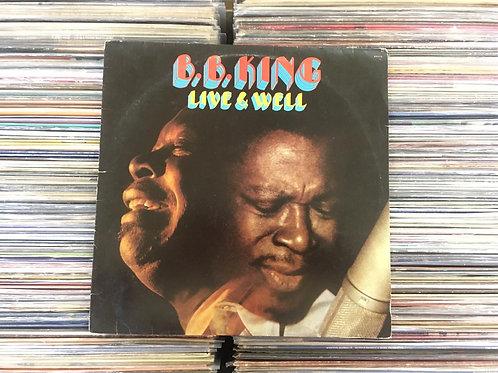LP B.B. King - Live & Well
