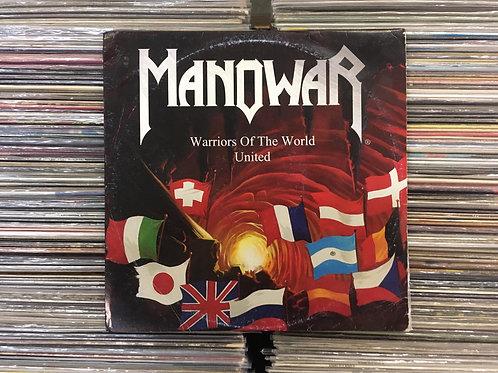 LP Manowar - Warriors Of The World United - Single - Colorido - Importado