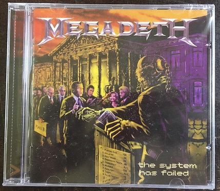 CD Megadeth - The System Has Failed - Lacrado