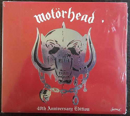 CD Motörhead - Motörhead 40th Anniversary Edition - Lacrado