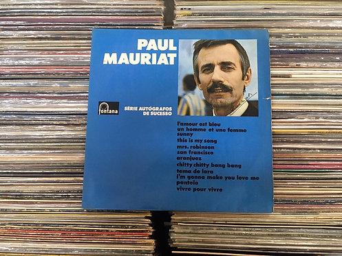 LP Paul Mauriat - Autógrafo Do Sucesso