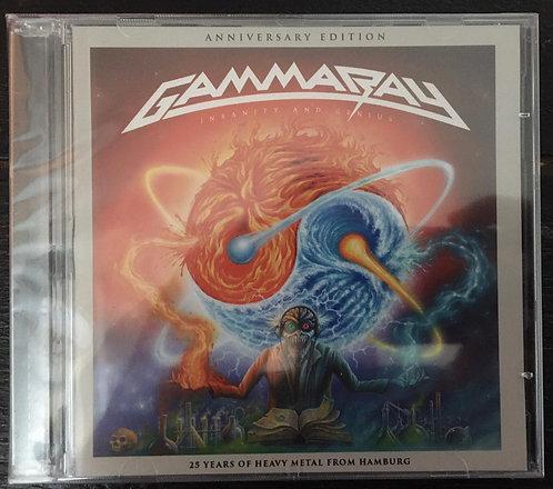 CD Gamma Ray - Insanity And Genius - Duplo - Lacrado
