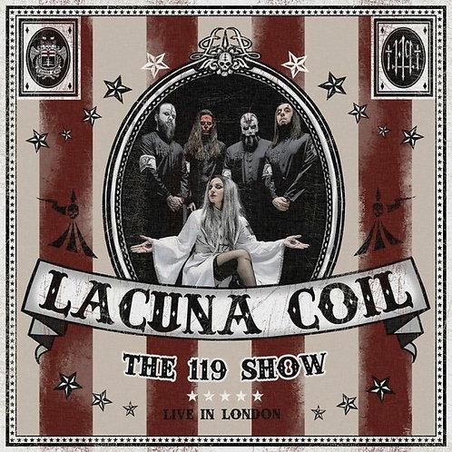 CD Duplo + DVD Lacuna Coil - The 119 Show - Live In London - Lacrado